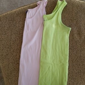 2 Motherhood Maternity tanks
